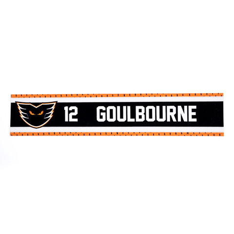 #12 Tyrell Goulbourne Road Name Plate