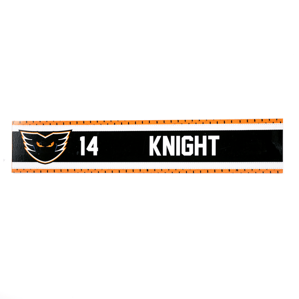 #14 Corban Knight Road Name Plate