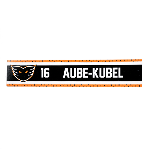 #16 Nic Aube-Kubel Road Name Plate