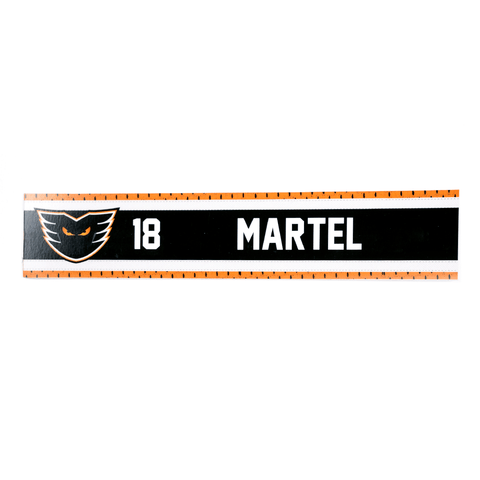 #18 Danick Martel Road Name Plate