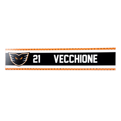 #21 Mike Vecchione Road Name Plate