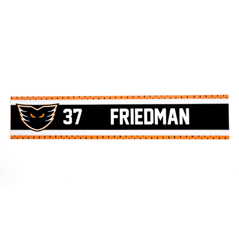 #37 Mark Friedman Road Name Plate