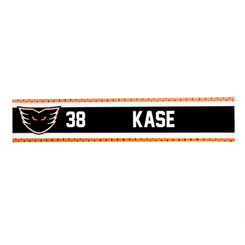 #38 David Kase Road Name Plate