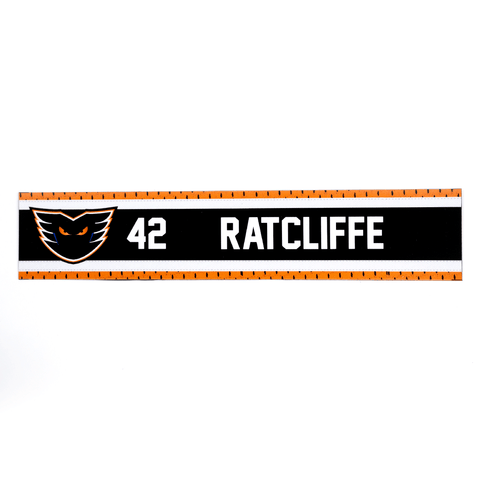 #42 Isaac Ratcliffe Road Name Plate