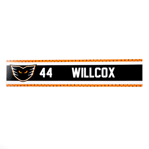 #44 Reece Willcox Road Name Plate
