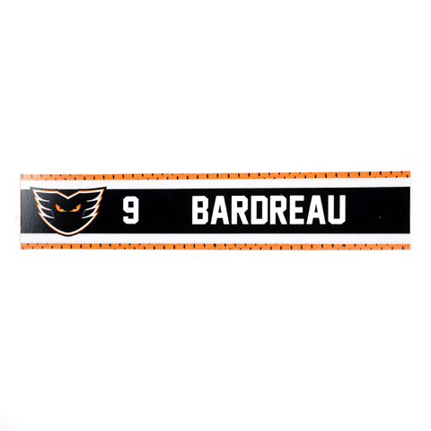 #9 Cole Bardreau Road Name Plate