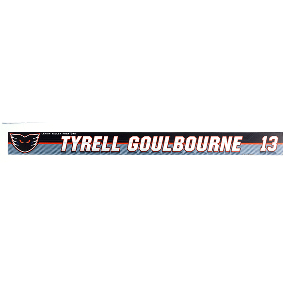 #13 Tyrell Goulbourne Locker Room Name Plate