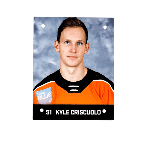 #51 Kyle Criscuolo  Metal Wall Photo
