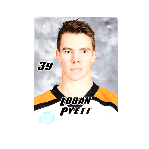 #39 Logan Pyett Metal Wall Photo