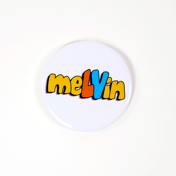 meLVin Button Magnet