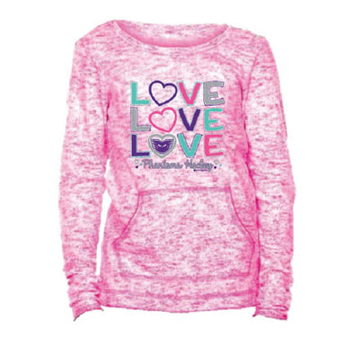 More Love Phantoms Pink Tee