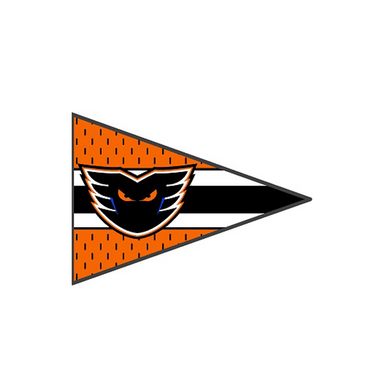 Phantoms Pennant Pin