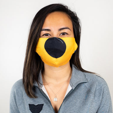 Puck-Nose Pladottle Face Mask