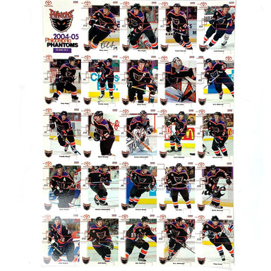 2004-2005 Philadelphia Phantoms Team Set