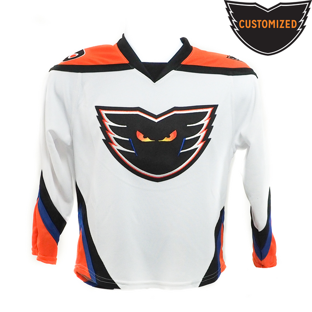 Customized Youth Premier White Jersey