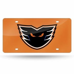 Orange Laser Cut Vanity License Plate
