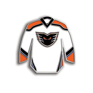 Phantoms White Jersey Pin