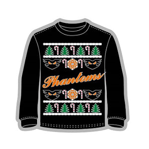 Phantoms Ugly Christmas Sweater Pin
