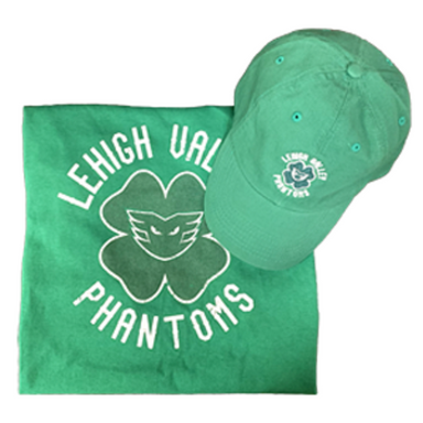 Luck of The Phantoms Shirt & Cap Combo