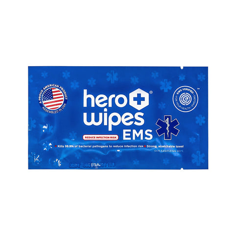 EMS Sanitizing Wipes - 250 Individually Wrapped Packet