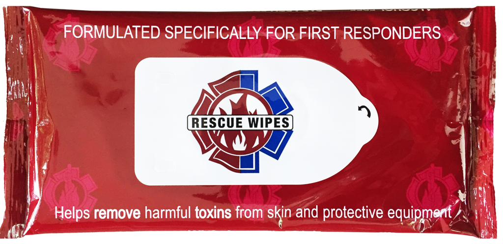 Rescue Wipes (10ct Pouch) - Case of 48 Pouches (total 480 Wipes)