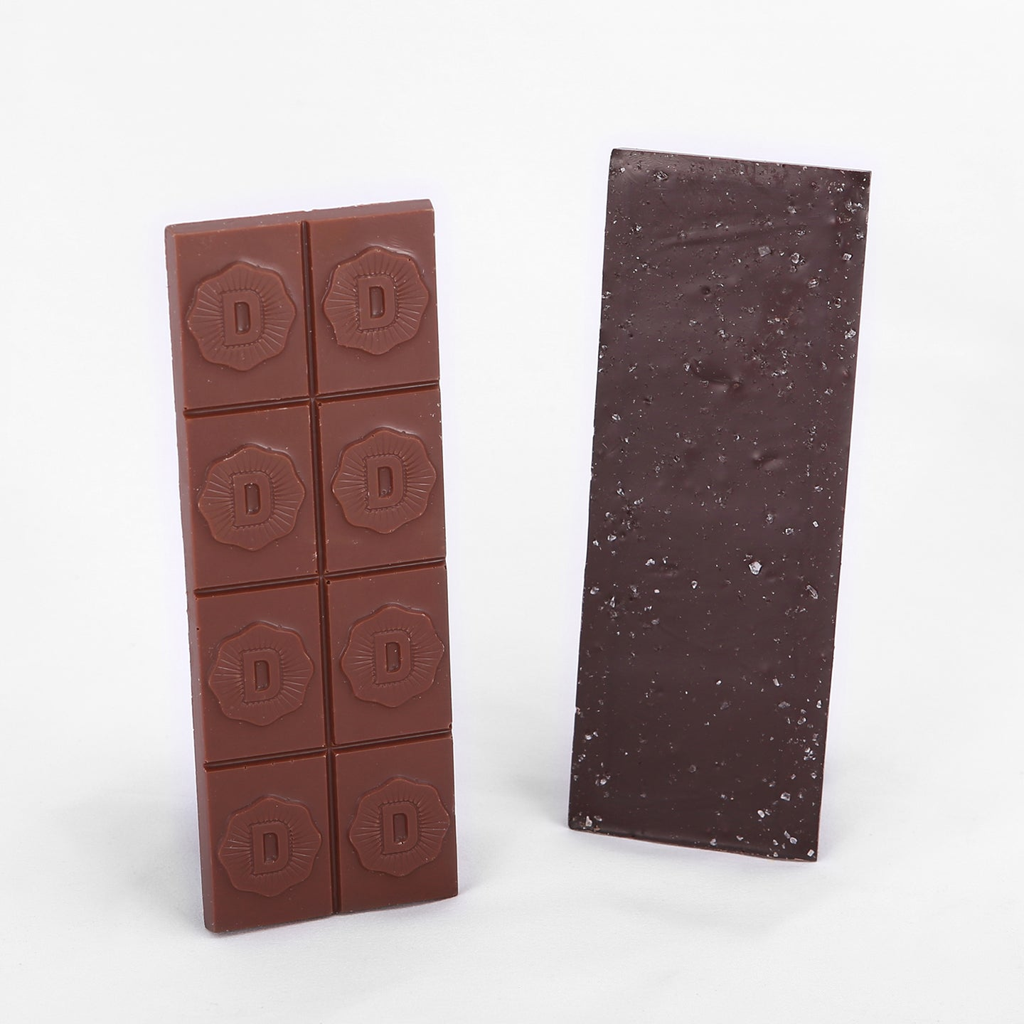 Two small Deiter's chocolate bars