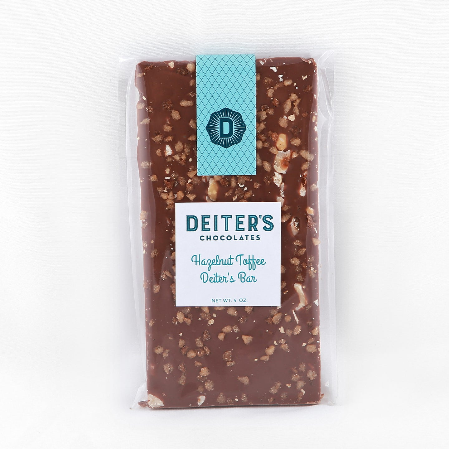 hazelnut toffee Deiter's bar