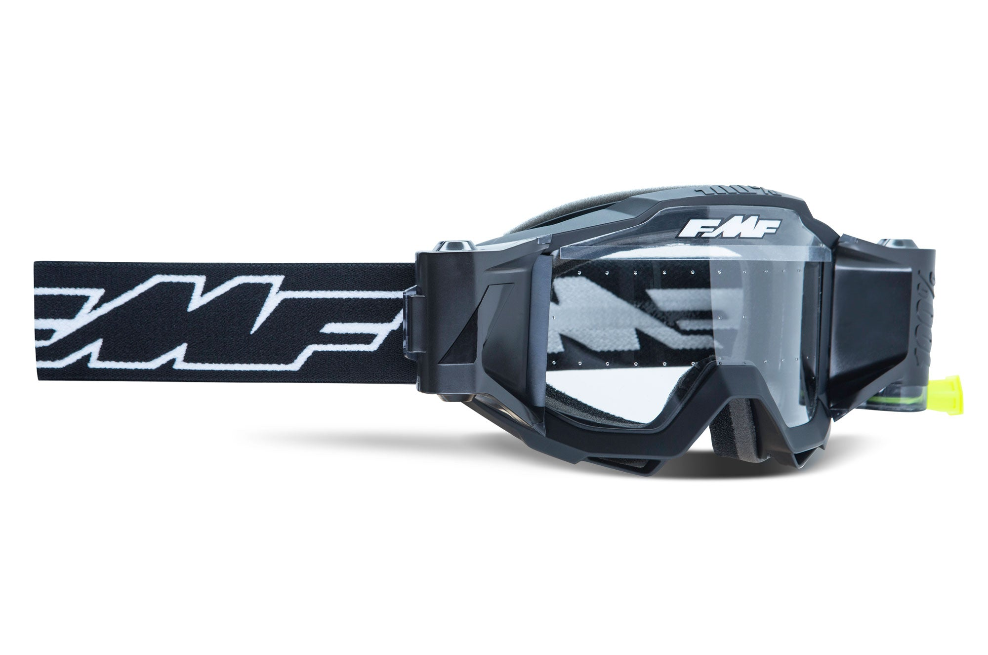 FMF POWERBOMB YOUTH Film System Clear Goggle