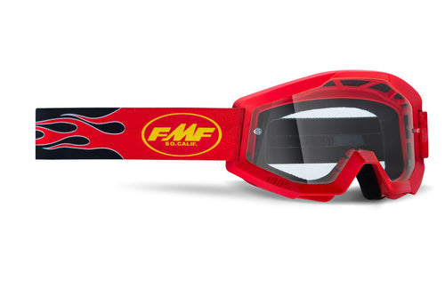 FMF POWERCORE YOUTH Goggle - Clear