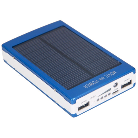 High Capacity 10000mAh Dual-USB Solar Power Battery Charger Mobile Power - My Sweet Little Boutique