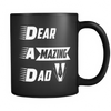 Black Mug : Dear Amazing Dad (Exclusiveness) - My Sweet Little Boutique
