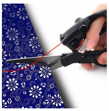 Laser Guided Scissors For Sewing Fabric - My Sweet Little Boutique