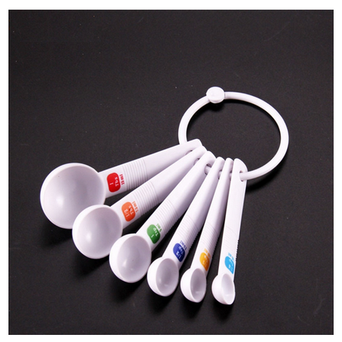 6-piece Measuring Spoon Set - My Sweet Little Boutique