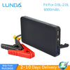 LUNDA New Mini Portable 12V Car Battery Jump Starter Auto Jumper Engine Power Bank Starting Up To 2.0L Car Start - My Sweet Little Boutique