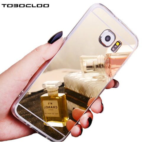 Luxury Mirror Soft Silicone Case For Samsung - My Sweet Little Boutique