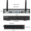 Wireless Weatherproof 4-Channel NVR Security Camera system - My Sweet Little Boutique