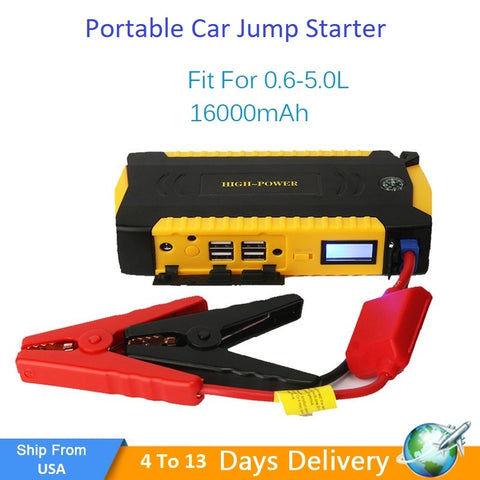 Portable Car jump starter 600A Peak 18000mAh - My Sweet Little Boutique