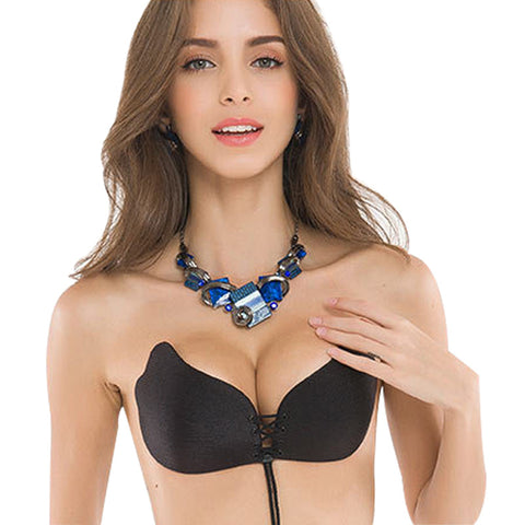 Invisible Backless Strapless Push Up Bra - Bikini - My Sweet Little Boutique