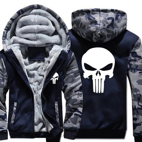 The Punisher Hoodie - My Sweet Little Boutique