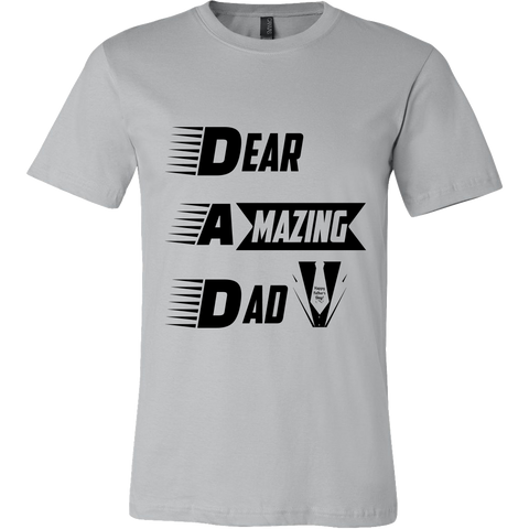 Men's Shirt BL: Dear Amazing Dad (Exclusiveness) - My Sweet Little Boutique