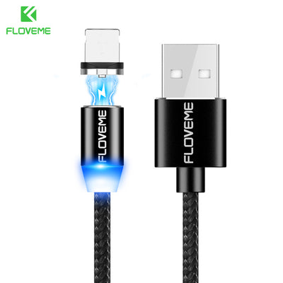 Magnetic 1m Braided Cable For Every Smartphone - My Sweet Little Boutique