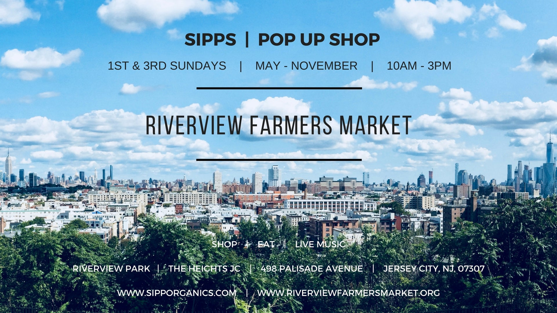SIPPorganics at Riverview Farmers Market