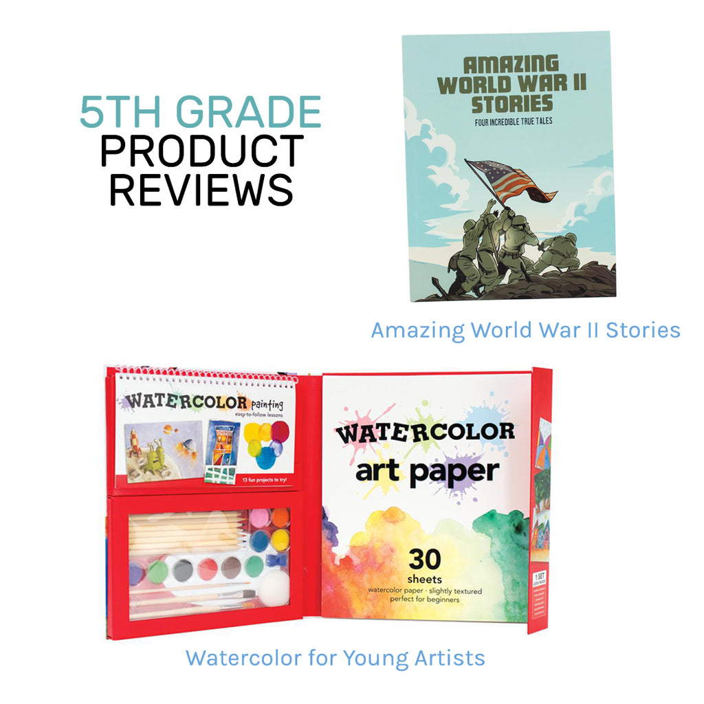5th Grade New Product Reviews