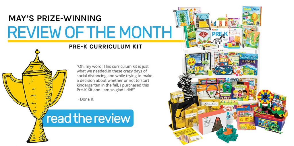 May Review of the Month - Pre-K Curriculum Kit />       <header role=