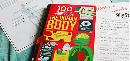 100 Things to Know About the Human Body Review by Little Earthling