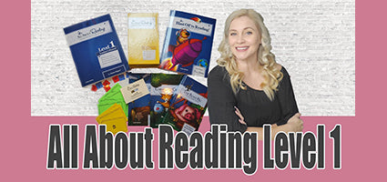 All About Reading 1 Review by Making Everyday Magic
