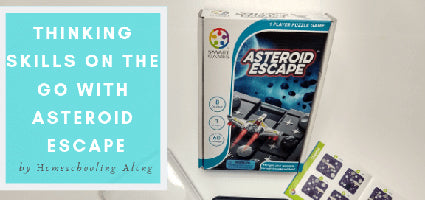 Asteroid Escape Review by Homeschooling Along