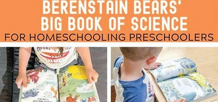 Berenstain Bears Big Book of Science Review by Mimi's Dollhouse