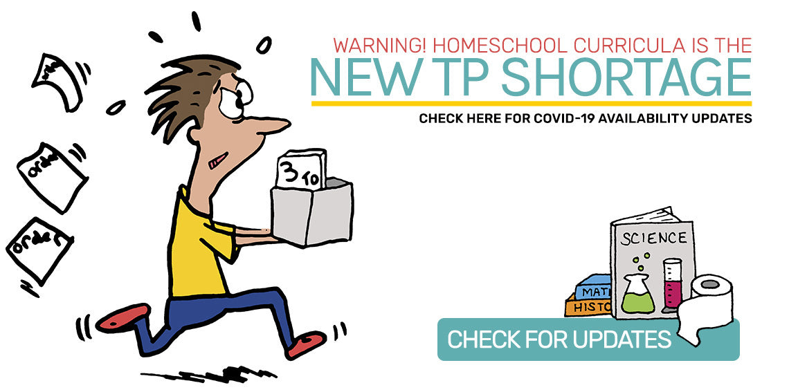 Homeschool Curricula is the new TP Shortage