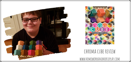 Chroma Cube Review by Homework and Horseplay
